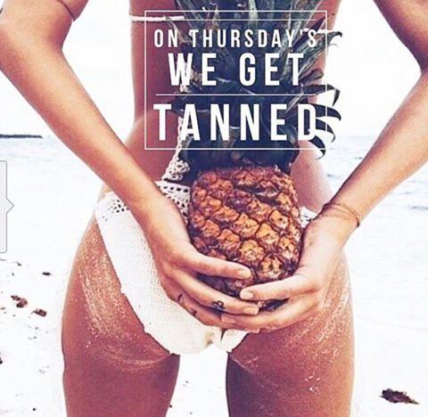 Happy Tanning Thursday!