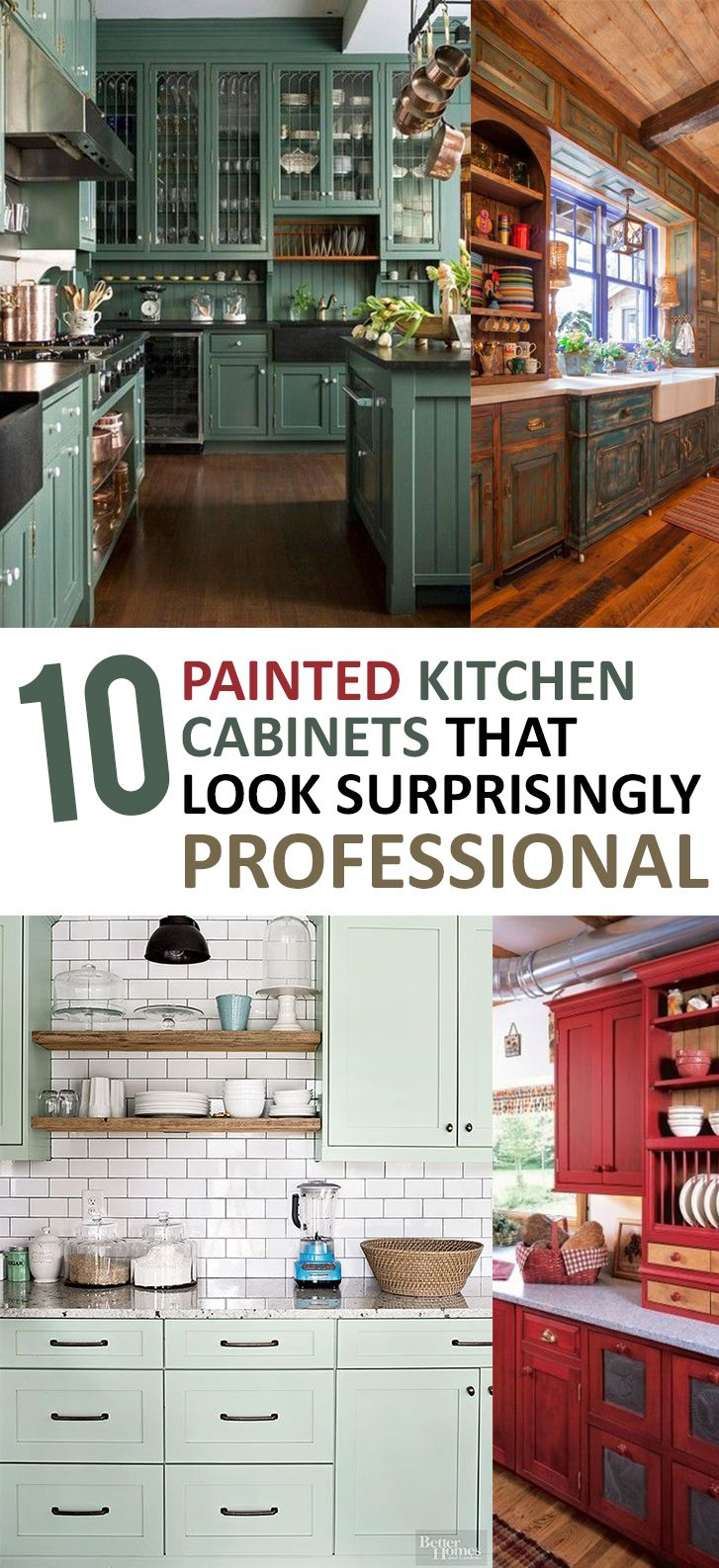 Get tips and tricks to give your kitchen cabinet a paint update!