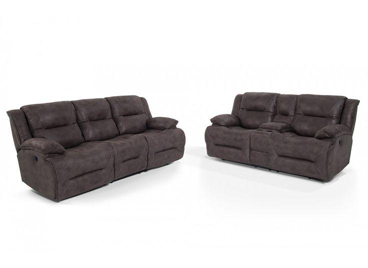 Jennings Power Reclining Sofa & Console Loveseat | Bob's ...
