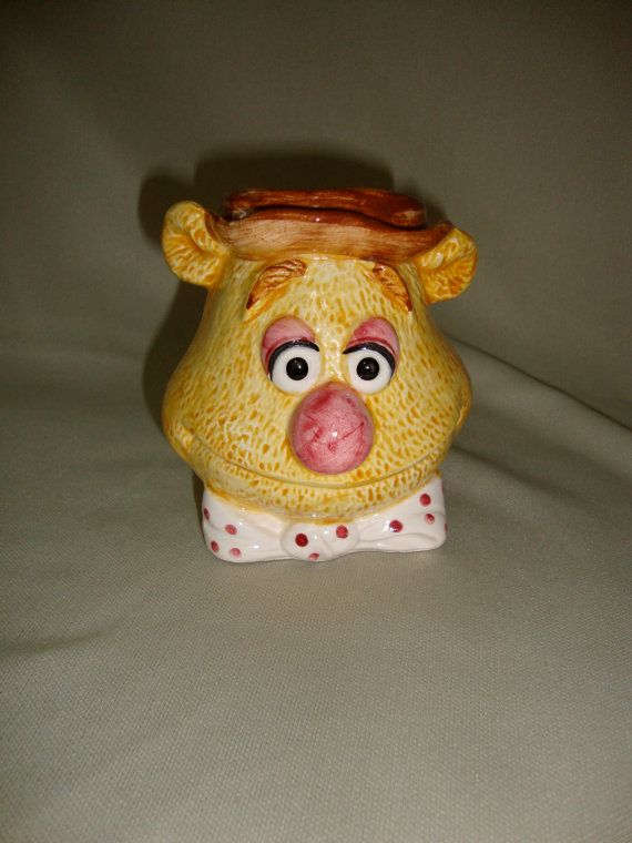 Vintage Fozzie Bear Cup Mug Muppets Taste by bobsfindsndesigns, $7.00