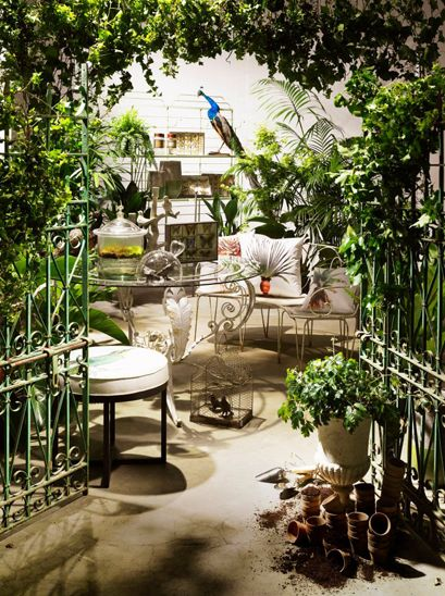Elements i love... Gates & Urns, Belle Magazine #styling #stevecordony