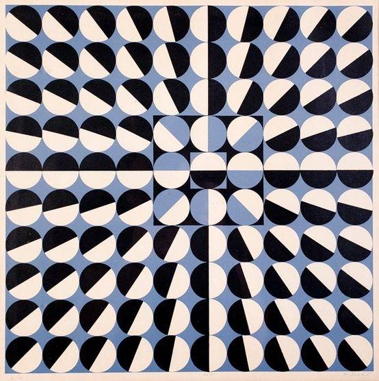 Graphic Inspiration.: Geometric Patterns, Optical Illusions, Texture Patterns Design, Design Is Fin, Graphics Inspiration, Black White, Op Art, Circles Black, Milan Dobeš