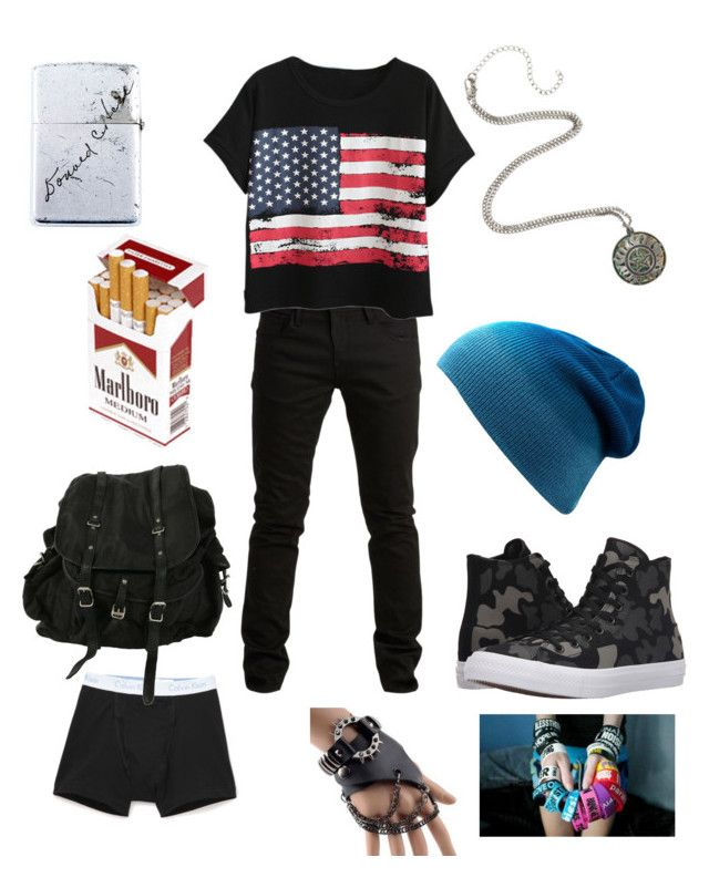"""Untitled #131"" by mt-tomboy-emo-life ❤ liked on Polyvore featuring Calvin Klein Underwear, SELECTED, Chicnova Fashion, Converse, AllSaints, Trend Cool, men's fashion and menswear"