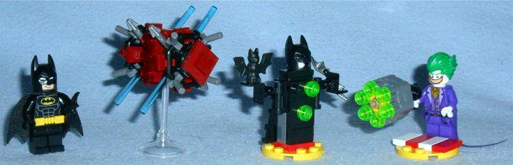 Lego - The Batman Movie Polybags 30522 - Batman in the Phantom Zone 30523 - The Joker Battle Training