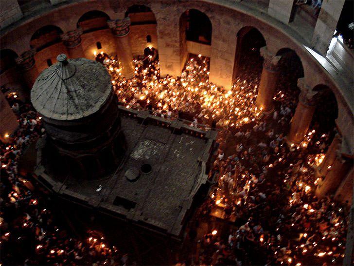 Αγία γη, Ιερουσαλήμ, Ναός Αναστάσεως, Πανάγιος τάφος.