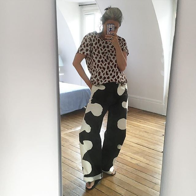 Sophie Fontanel a new French Style Heroine and over-40 Instagrammers are in Vogue - That's Not My Age