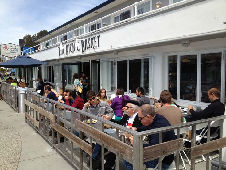 Located across from the beach, The Picnic Basket has become the town's go-to place for sandwiches, salads and snacks. Photo: Zachary Davis