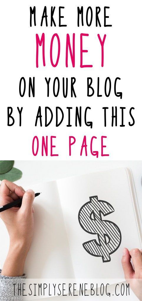 Easily Monetize Your Blog by Adding this One Page – Angie @ My So-Called Chaos