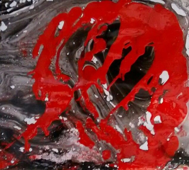 Beatriz isaza arte Serie Experimentos 30 cms x 30 cms Aguadas en aceite Beatrizisaza53@gmail.com