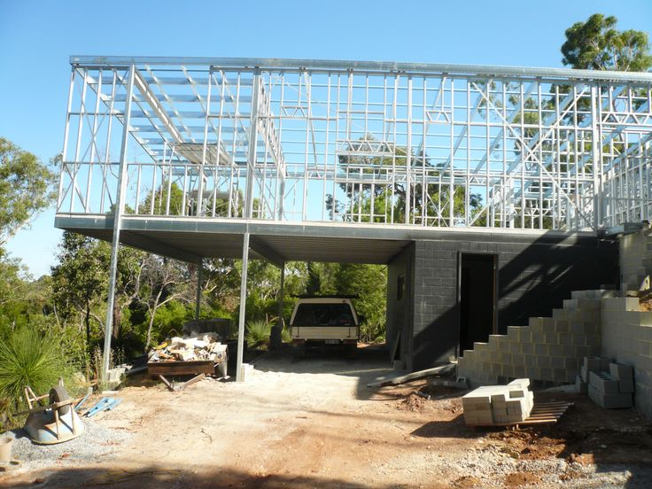 Boxspan Steel Roof Frame