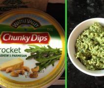 Rocket, Cashew and Parmesan Chunky Dip