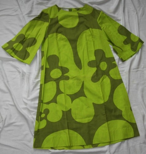 Vintage Finn Fashions by Stampe Short Dress 60s 70s Size 8 Marimekko | eBay