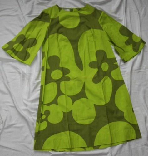 Vintage Finn Fashions by Stampe Short Dress 60s 70s Size 8 Marimekko | eBay