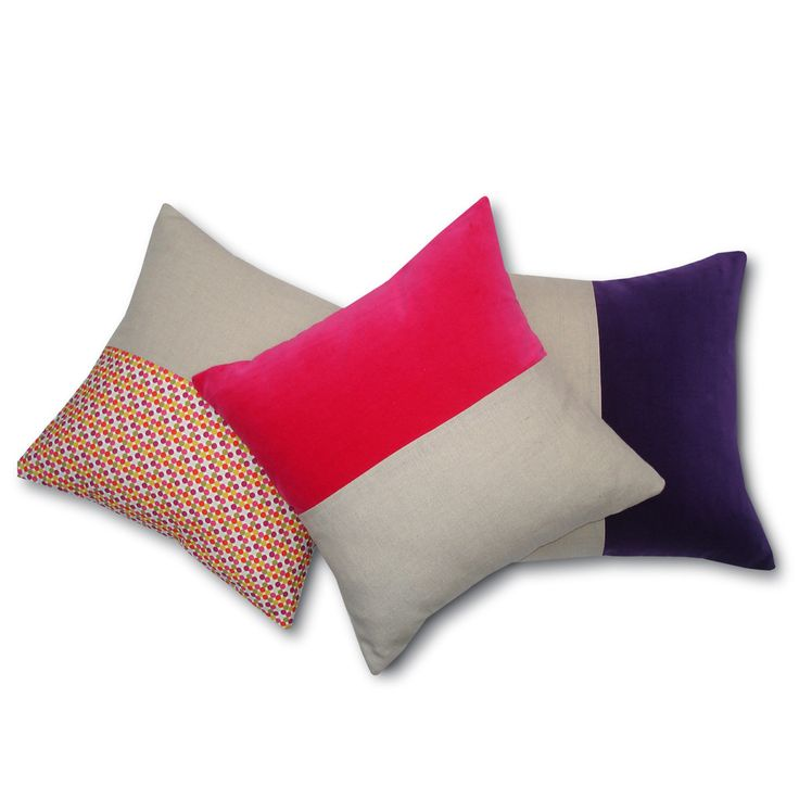 Gerty Brown for Collected Split cushion