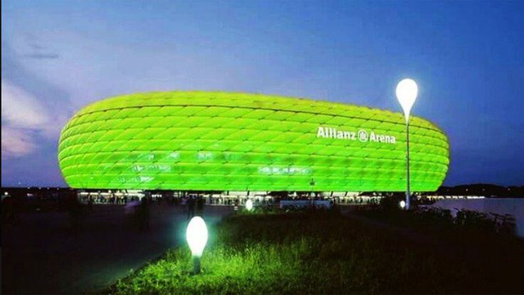 Homage to Chapecoense Futbol Club Allianz Arena, Múnich, Alemania