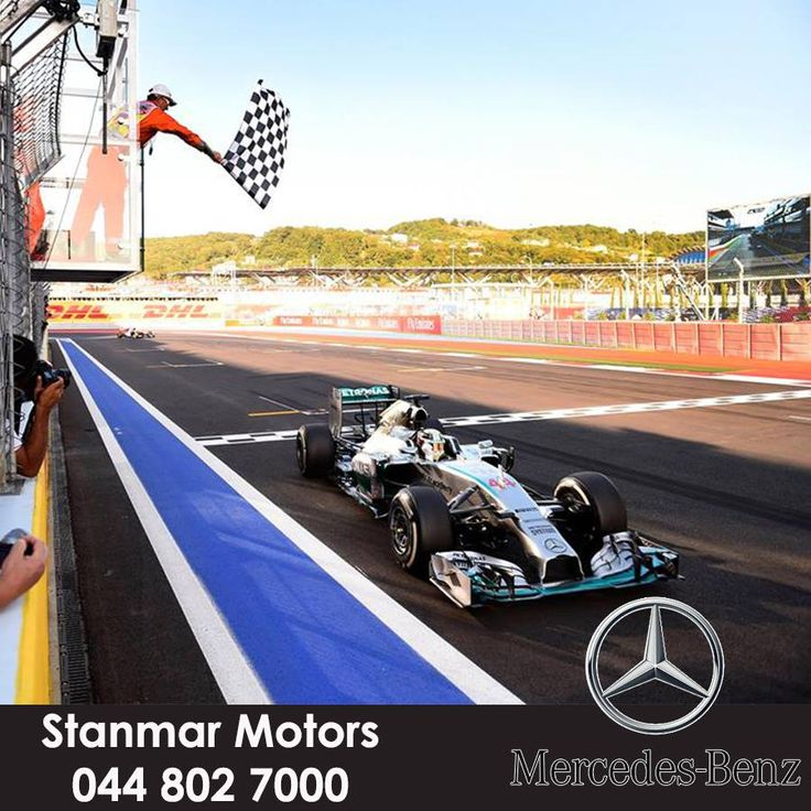 Lewis Hamilton WINS the #RussianGP! He equals Nigel Mansell's record for victories by a British driver!! And what a drive from Nico Rosberg – from the very back to P2!!! The Mercedes-Benz Silver Arrows are 2014 #F1 #W05LDCHAMPIONS!!!! GET IN THERE!!!