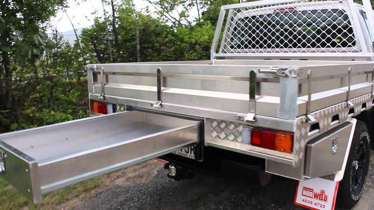 Norweld Heavy duty ute tray walk around. - YouTube