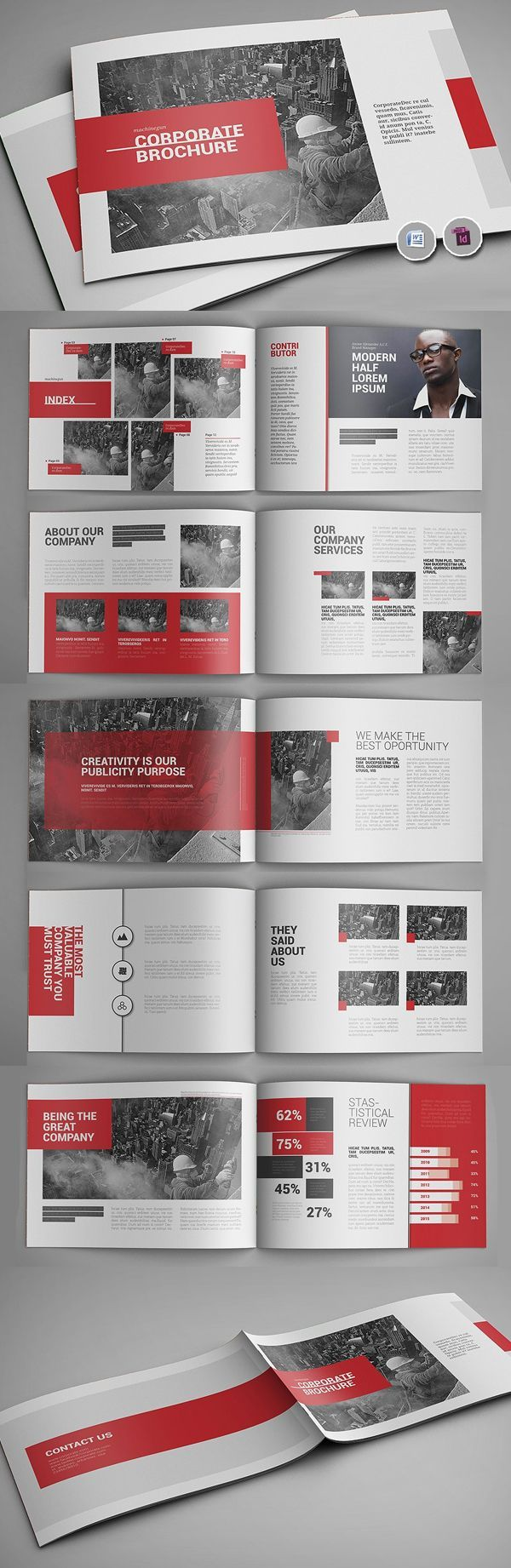 Booklet Brochure Template – #Booklet #Brochure #ma…