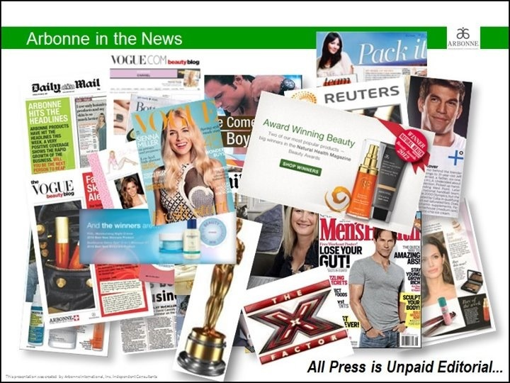 Arbonne in the news