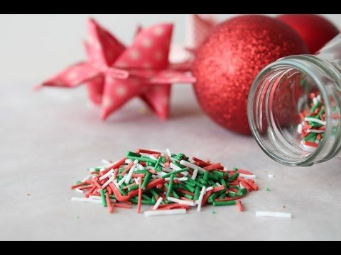 How To Make Christmas Sprinkles - By One Kitchen Episode 334