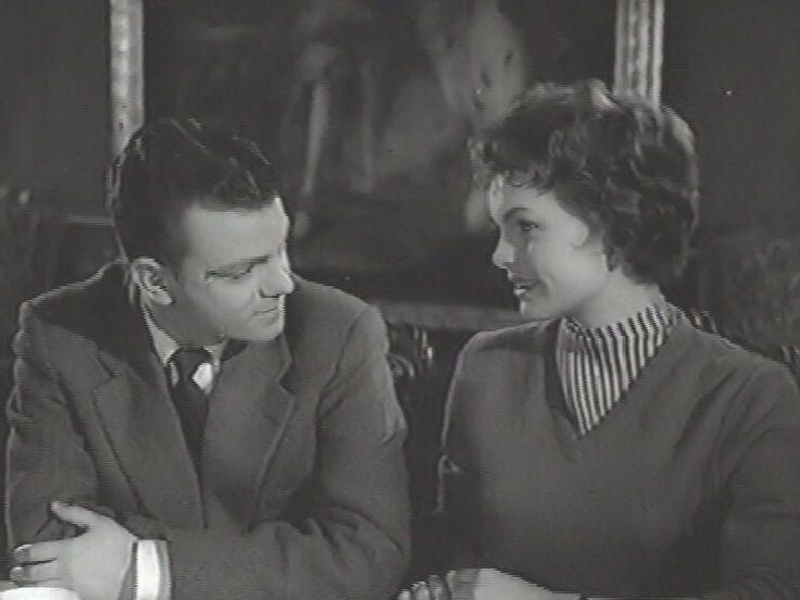 Ebbe Langberg og Ghita Nørby, i Ballade på Bullerborg fra 1959