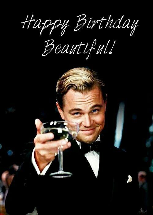 Leonardo DiCaprio says Happy Birthday ♡