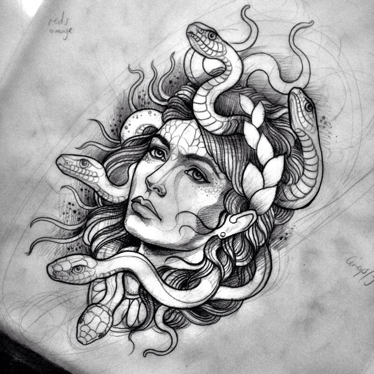 woman and snake tattoo - Google Search