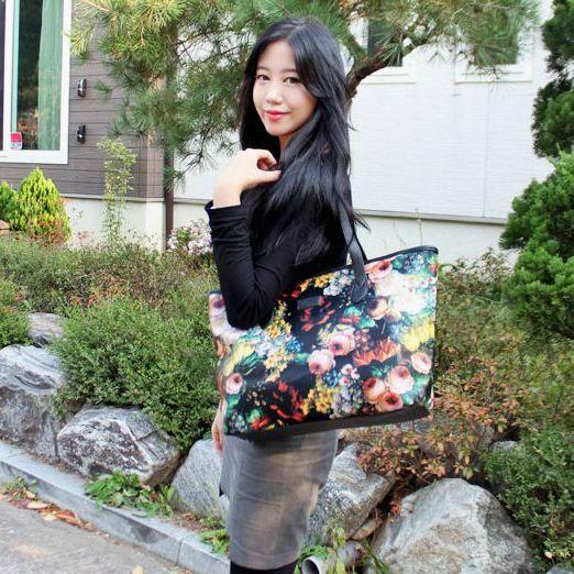 Korea Premium Bag Shopping Mall [COPI]  copi handbag no. D18285 / 40.48USD #bag #leatherbag #totebag #Casual#flower http://en.copi.co.kr/