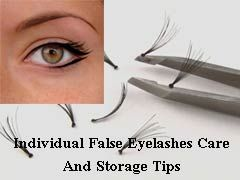 how to take care of individual eyelashes