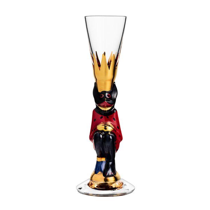 Gunnar Cyrén - Nobel - Snapsglas röd Kristallglas Beställ här! Klicka på bilden.