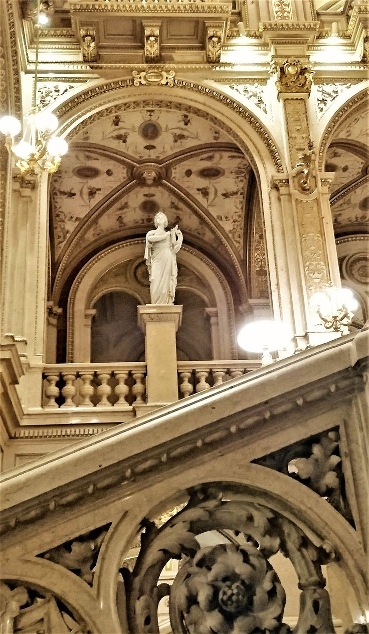 An evening at the opera - Vienna State opera