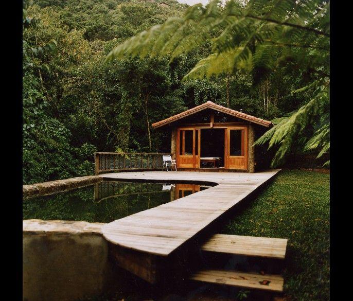 Carlos Motta – Arquitetura: Carlos Motta, Casa Carlo Motta, Pools Decks, Pools Houses, Architecture, Dreams Pools, Outdoor Spaces, Dreams Spaces, Secluded Cabin