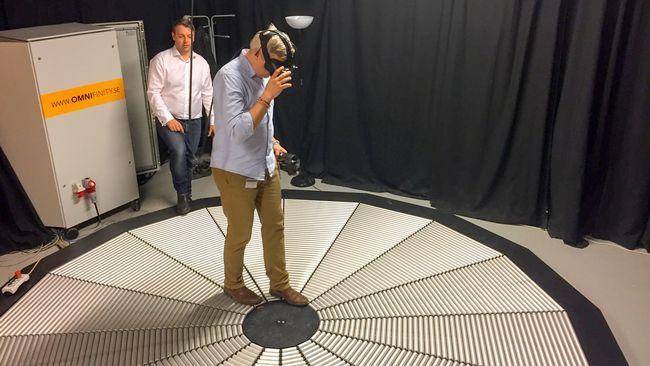 Världsunikt rullband – virtuell verklighet tar nya kliv | SVT Nyheter
