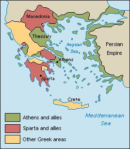 Cultural differences between ancient greece and persia