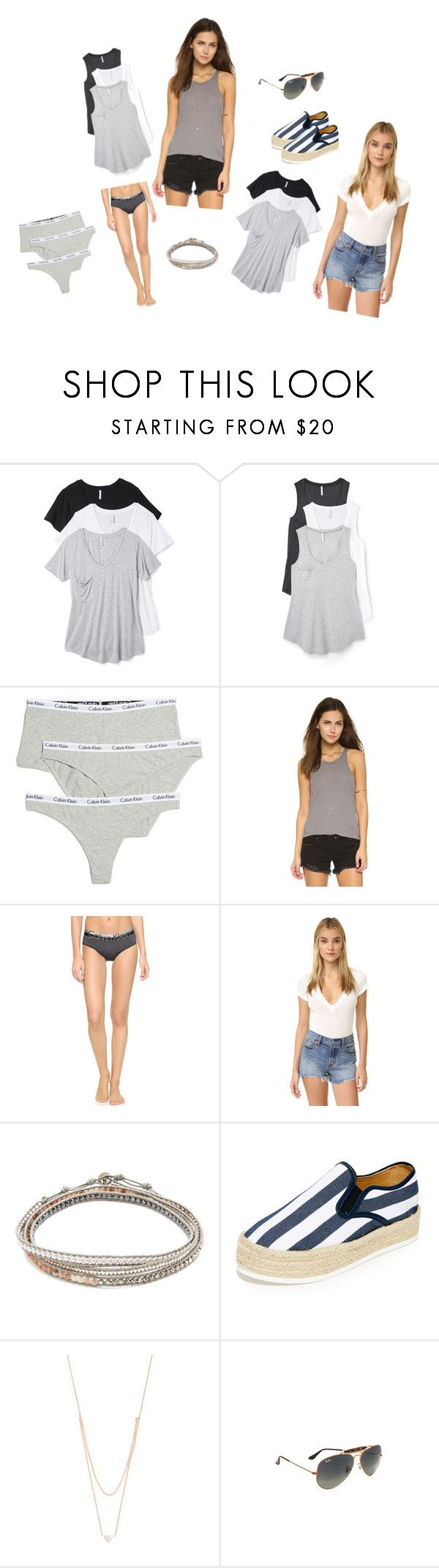 """""""Combo Pack Sale..##"""" by yagna ❤ liked on Polyvore featuring Z Supply, Calvin Klein Underwear, Free People, Chan Luu, Matt Bernson, Kismet by Milka and Ray-Ban"""
