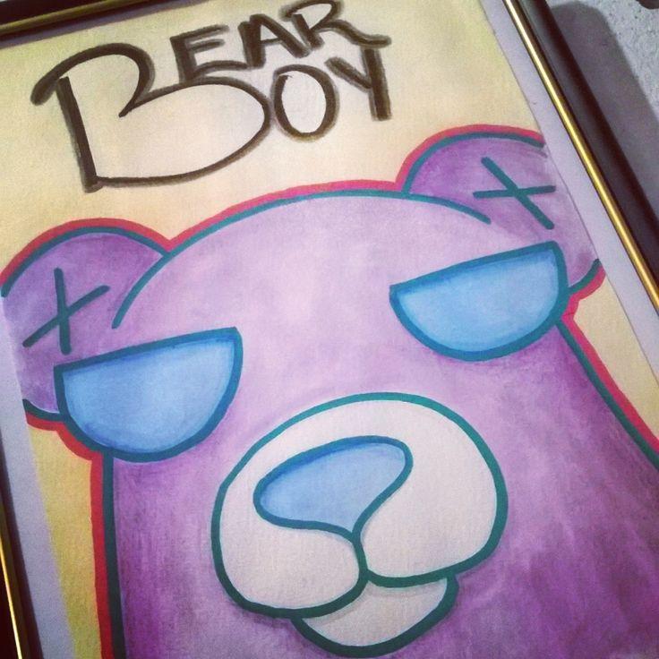 Y cuando andas de malote... Bear Boy -.-