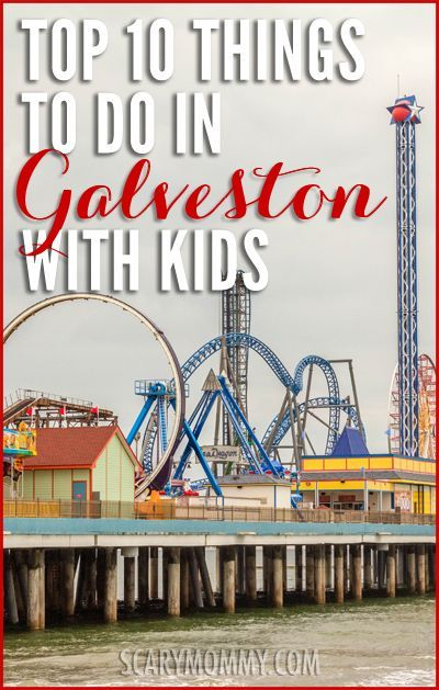 Looking for things to do in Galveston, Texas with kids? Galveston has a fun, laid back atmosphere that makes it a great place to visit as a family. Get fantastic vacation tips and ideas in the Scary mommy travel guide!  summer | spring break | parenting advice