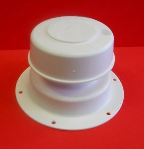 a camco white plumbing roof vent cap removable top rv camper trailer sewer 40032