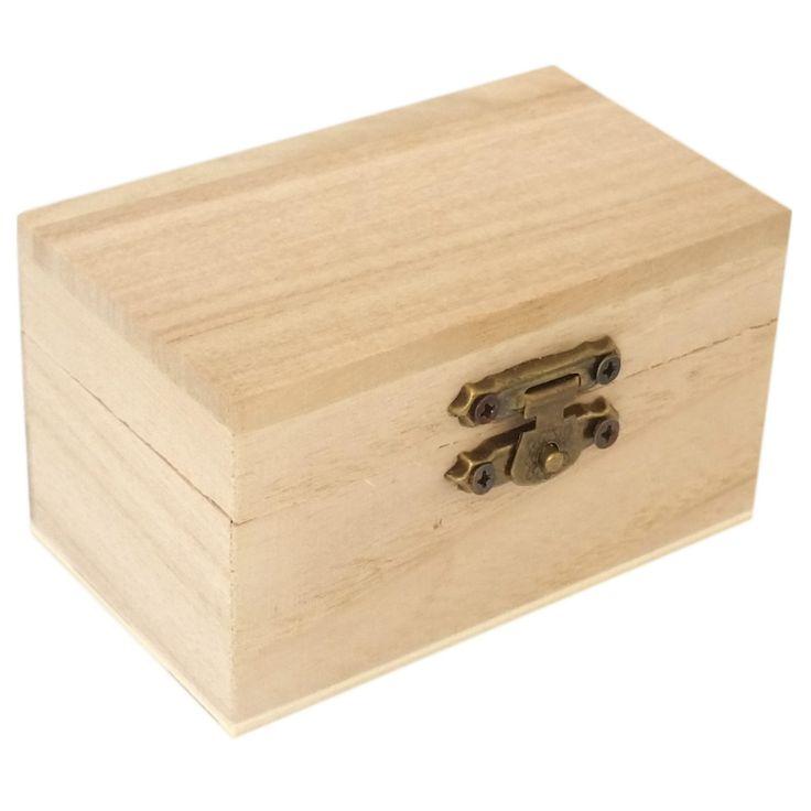 Fa minidoboz téglalap - Dobozok, tartók - KHSHOP.HU - A Kreatív Hobby webáruház
