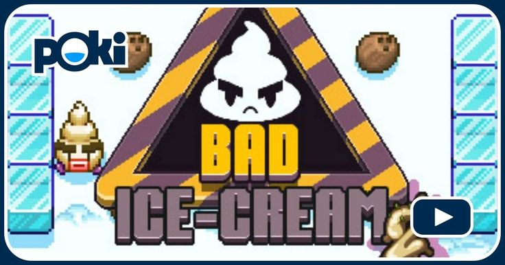 Bad Ice-Cream 2 Online: ¡Ve a la guerra con helado soft y enemigos hambrientos en campos de batalla congelados! - Juega Bad Ice-Cream 2 Gratis!