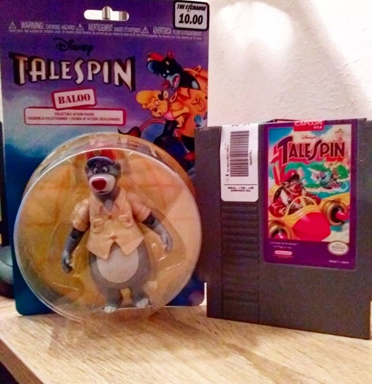 I've been meaning to pick up the NES version of Talespin for a while and saw it for a good price. While I was grabbing the game I had also seen the new funko Talespin Baloo figure so I figured it was fate LOL. #Talespin #funko #disneyafternoon #disney #nes #nintendo #8bit #toys #games #throwback #gamer #retro