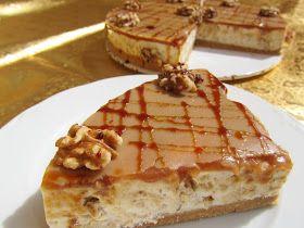 Tarta de queso, miel y nueces con Thermomix