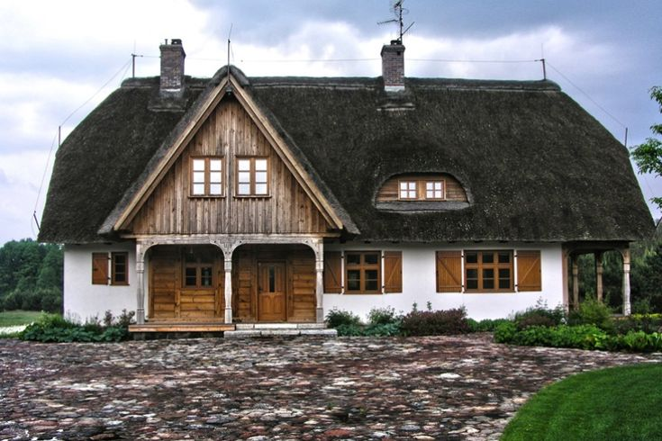 Dom w zagrodzie  Archideo.pl