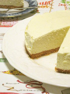 ダンナが愛する♡我が家のレアチーズケーキ