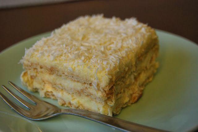 Gospodyni Miejska: Ciasto rafaello na krakersach