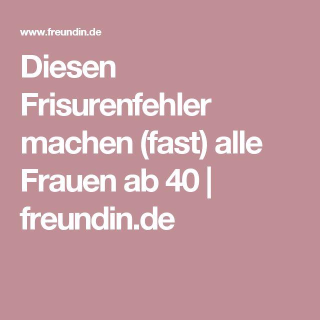 Diesen Frisurenfehler machen (fast) alle Frauen ab 40 | freundin.de