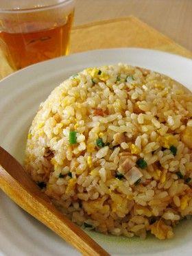 Fried rice (Fry it first!) 炊飯器で作るパラパラチャーハン
