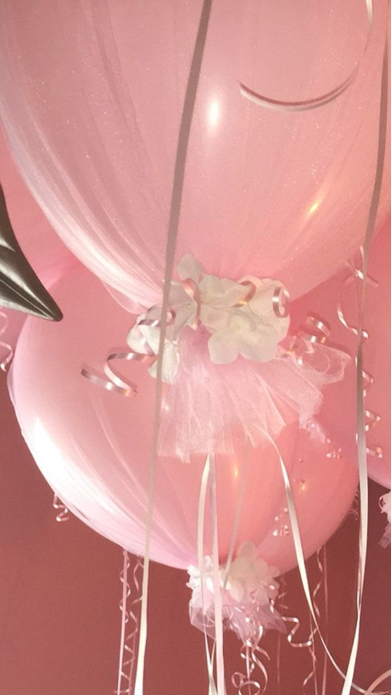 Tulle Balloon-16 inch by JennasInspirations on Etsy