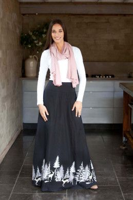 that bird label Rosie Maxi Skirt - Womens Long Skirts - Birdsnest Buy Online