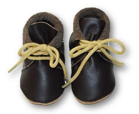 mokasynki CZEKOLADA Leather Baby Shoes Moccassins Chocolate https://fiorino.eu/